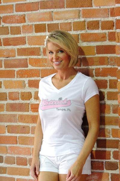 Ladies White T 4e6fad4376e77